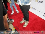I was obsessed with his kicks!