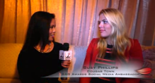 Talking to funny lady and SAG Social Media Ambassador, Busy Philipps!