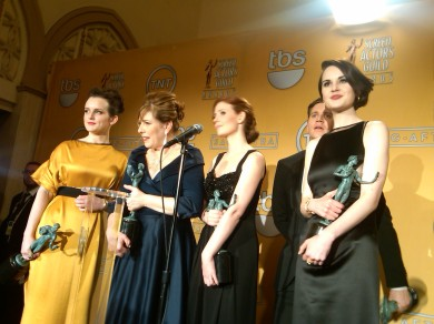 Press Room: the cast of Downton Abbey