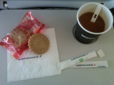 Air France is classy.