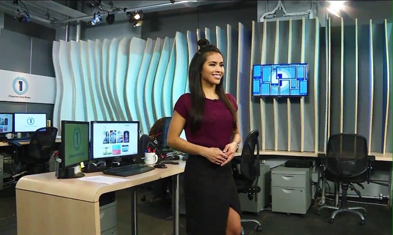 Azia Celestino Channel One News 020516