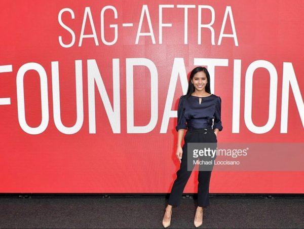 Azia Celestino SAG AFTRA Foundation